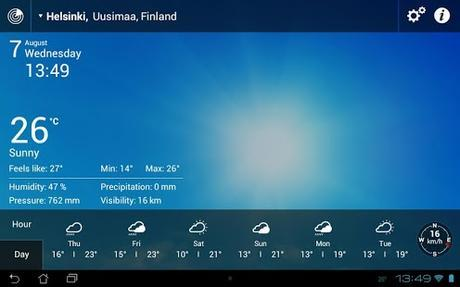 Weather Live with Widgets - screenshot thumbnail