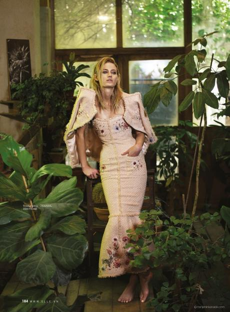Michelle Buswell in Chanel @ Benjamin Kanarek
