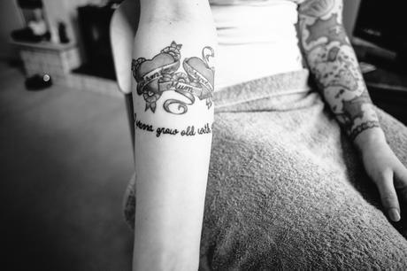 Wedding tattoo Photography Love hearts