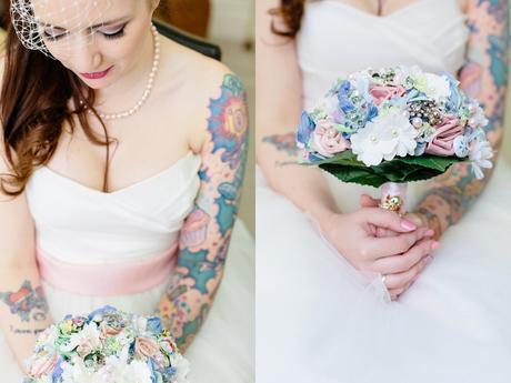 Tattoo Wedding tips Pretty Pastel Pink Vintage