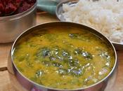 Drumstick Leaves -Dal Curry Murungai Keerai Poricha Kuzhambu