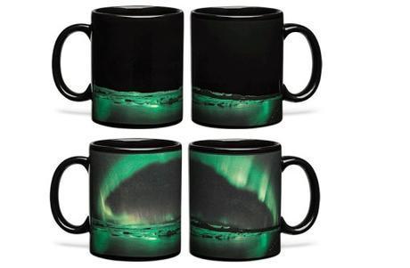 Aurora Borealis Heat Changing Mug