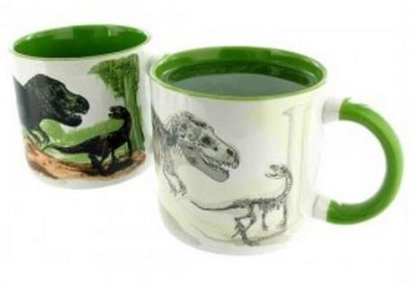 Extinct Dinosaurs Heat Changing Mug