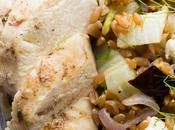 Mediterranean Farro Chicken Lunch Bowl Recipe