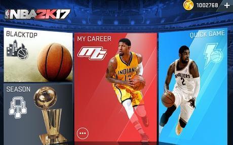 NBA 2K17- screenshot