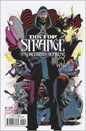 Doctor Strange and The Sorcerers Supreme #1 Cover - Rodriguez Variant