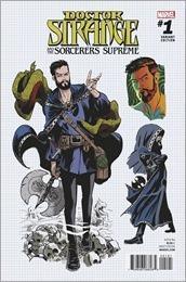 Doctor Strange and The Sorcerers Supreme #1 Cover - Rodriguez Design Variant