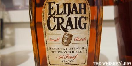 Elijah Craig Small Batch label