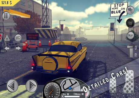Image result for Amazing Taxi Sim 1976 APK