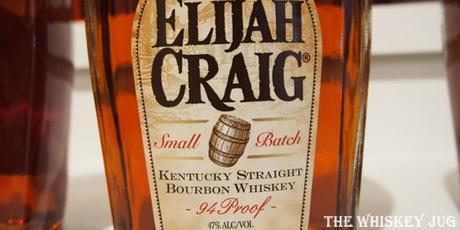 Elijah Craig 12 label