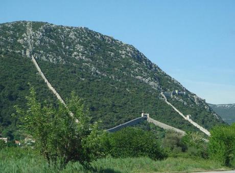 Walls of Ston, Ston