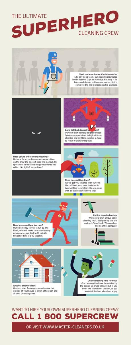 How Superheroes Can Help With Cleaning