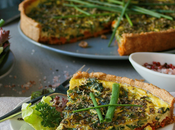 Spring Vegetable Pesto Tart