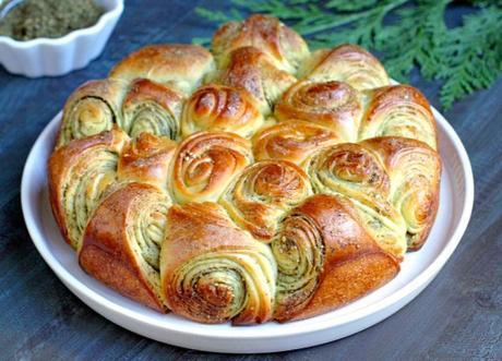 Za'atar Pull-Apart Bread