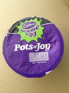 cadbury screme egg pots of joy