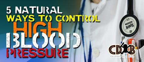 Natural Waye to Control High Blood Pressure Banner