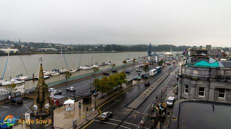 Riverfront in Waterford, Ireland