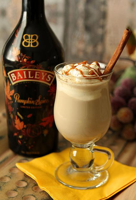 Dessert Coffee with Bailey's Pumpkin Spice Liqueur
