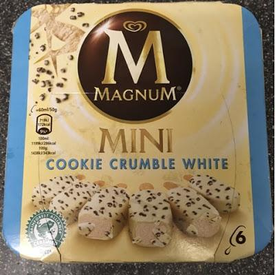 Today's Review: Magnum Cookie Crumble White
