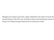 Bloggers Stars