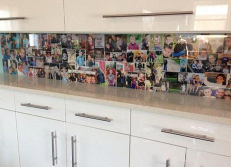 Kitchen Splash Back Made With Photos