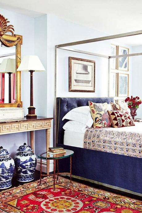 Decorating with Velvet for a touch of luxe