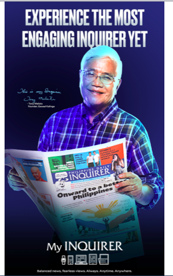 Philippine Daily Inquirer: the marketing of a relaunch