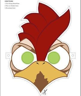 Image: Free Chicken Mask