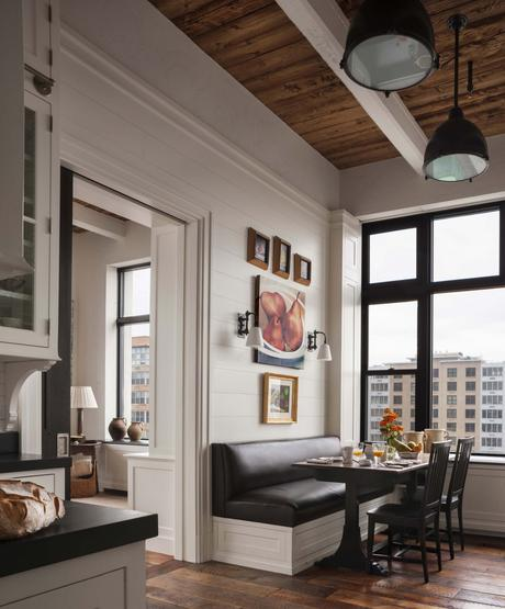 An amazing industrial chic New York City apartment