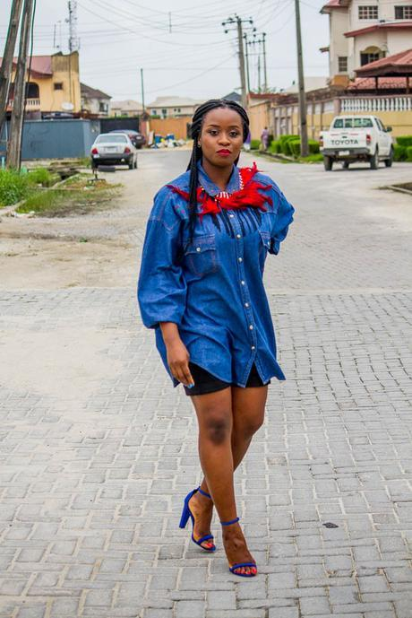 Ensemble || Feathers And Denim
