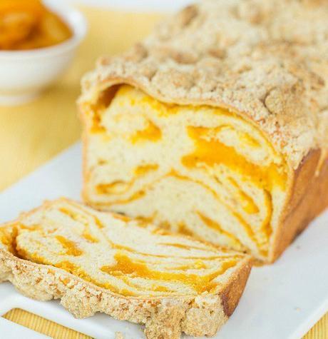 Apricot & Cream Cheese Bread