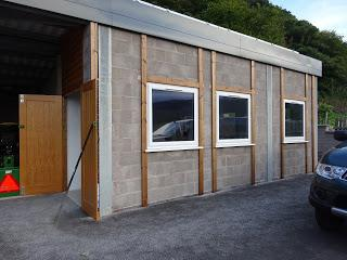 Cladding the Workshop