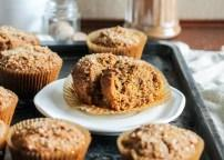 Vegan Pumpkin Spice Latte Muffins