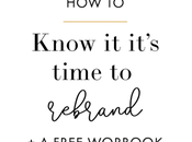 Know It's Time Rebrand Free Workbook