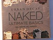 Urban Decay's Naked Basics Ultimate Palette Review Swatches