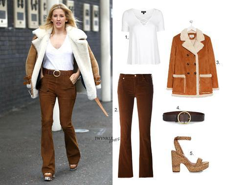 GET THE LOOK | ELLIE GOULDING'S 70'S FASHION CAMEL