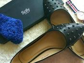 Rugged Meets Feminine Allen Solly Black Ballerinas