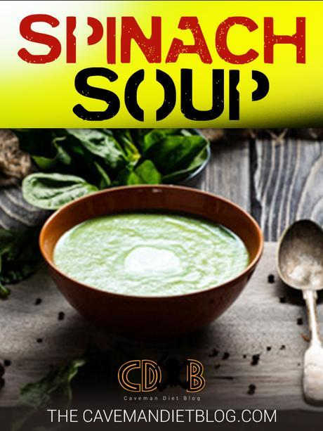 paleo soup recipes spinach soup main image