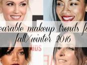 Wearable Makeup Trends Fall/Winter 2016 [Sponsored]