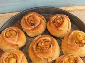 Savoury Potato Rose Rolls #BreadBakers