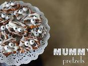 Blast from Past Mummy Pretzels