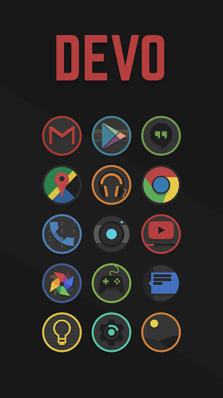 Devo - Icon Pack - screenshot
