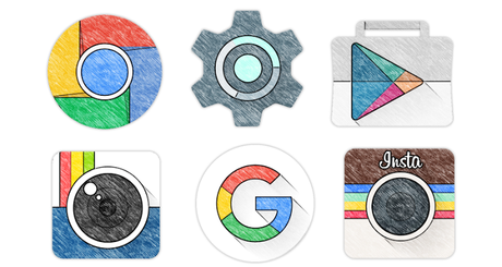 Sketchy Icon Pack 1.37 APK