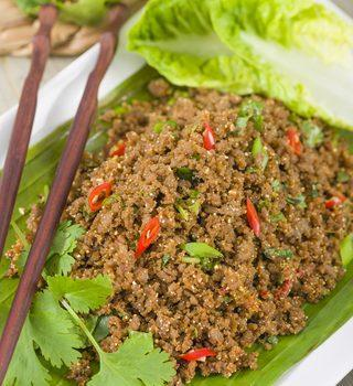 paleo dinner recipes spicy beef featured image