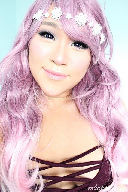 Wigaholics Light Fushcia Medium Wavy Wig + Coupon Code