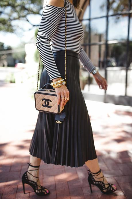Chic at Every Age // Pleated Midi Skirt