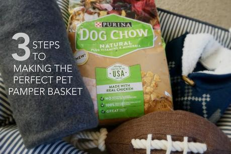 Three Steps to Making the Perfect Pet Pamper Basket