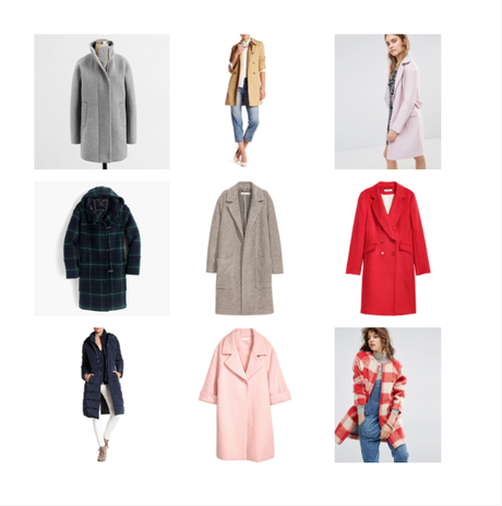 My Favorite Coats for Fall and Winter
