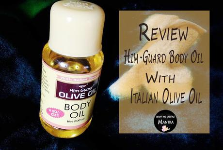 Review // Him-Guard Body Oil With Italian Olive Oil