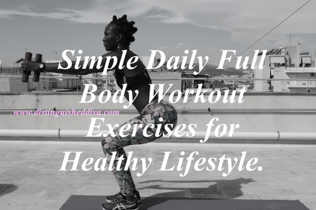 By Photo Congress || Simple Daily Workout Routine At Home